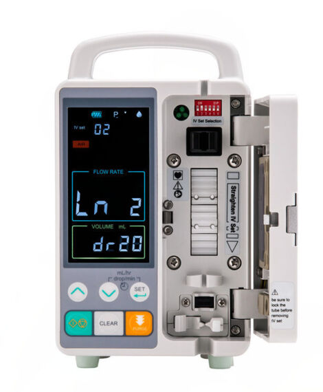 veterinary infusion pump / 1 channel / volumetric / for animals