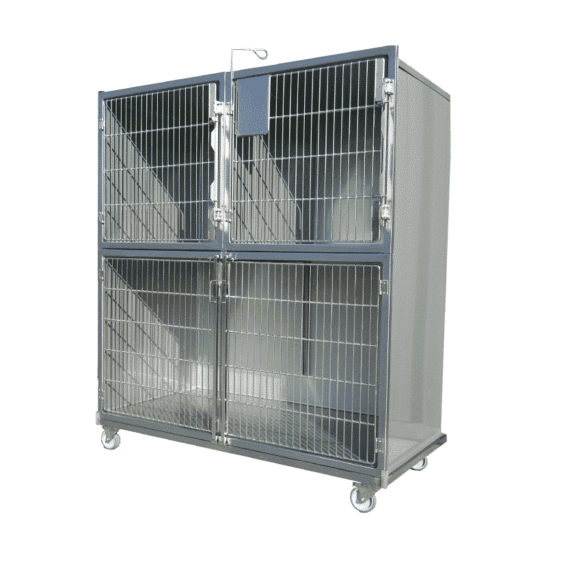 ensemble de cages veterinaires plan de travail 1