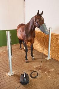 Appareil d'aérosolthérapie pour équins et bovins